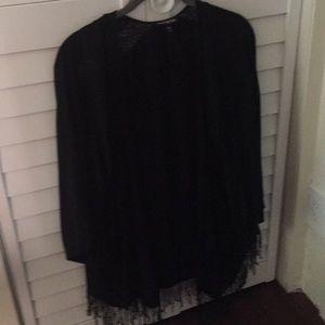 Express Black Kimono